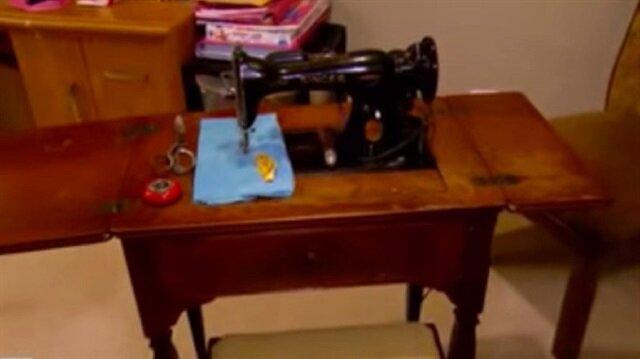 Halasından eski dikiş makinesi miras kaldı, bir günde hayatı değişti