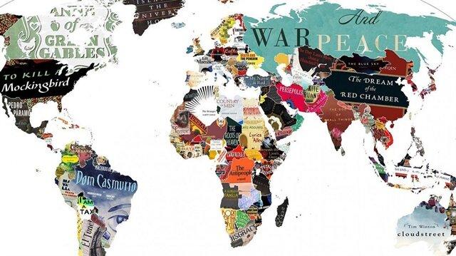 Dünya edebiyatı haritası: Ülkelerin en popüler kitapları