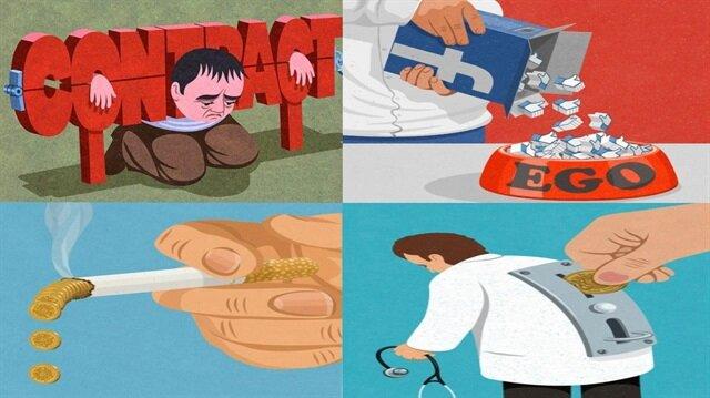 Toplumsal problemleri en iyi anlatan 10 illüstrasyon