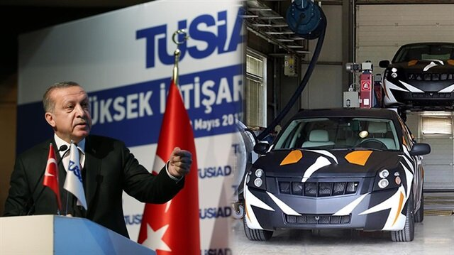 Cumhurbaşkanı Erdoğan: Biriniz yerli araba yapamıyorsa dükkanı kapatıp gitmemiz lazım