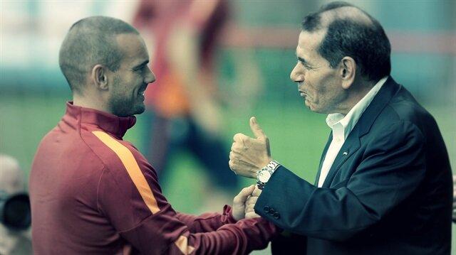 Dursun Özbek'ten Sneijder itirafı
