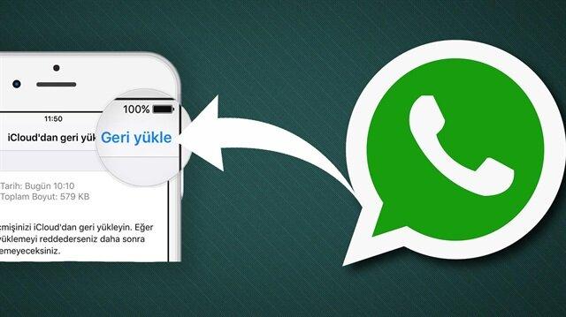 WhatsApp'ta eski mesajlar nasıl geri getirilir?