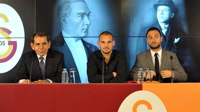 Sneijder tek kişiye teşekkür etti: