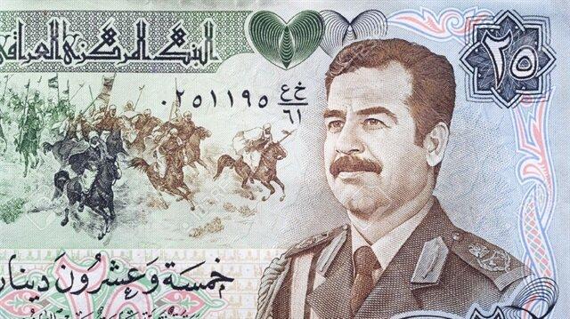 Saddam'ın paraları Irak'a iade edildi
