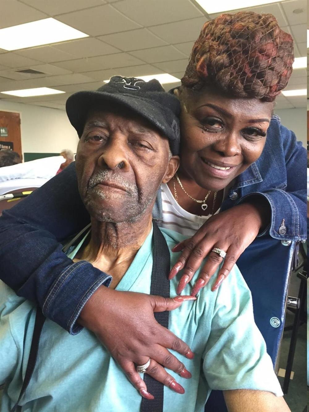 Ölen adam Celeveland Butler ve kızı Sandra Butler