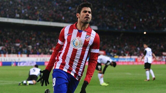 Atletico Madrid, Diego Costa'yı açıkladı