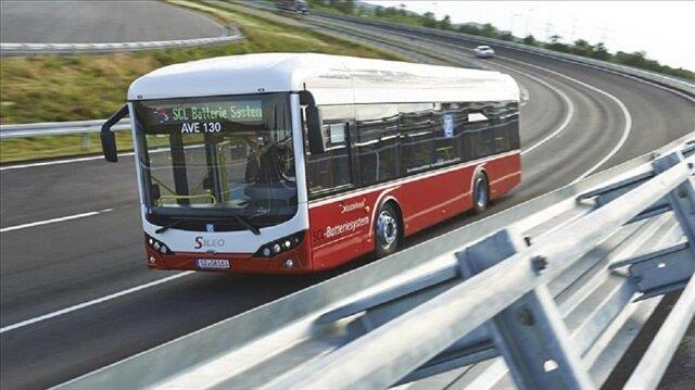 400 km menzile sahip yerli elektrikli otobüs SILEO Avrupa'da tanıtıldı