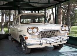 Tülomşaş bahçesinde sergilenen Devrim arabası