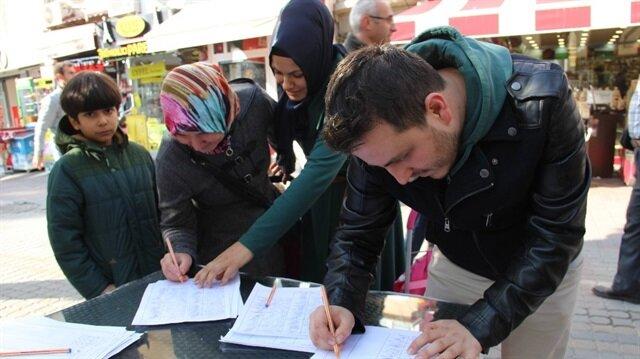Yerli otomobil için 3 saatte 4 bin imza toplandı