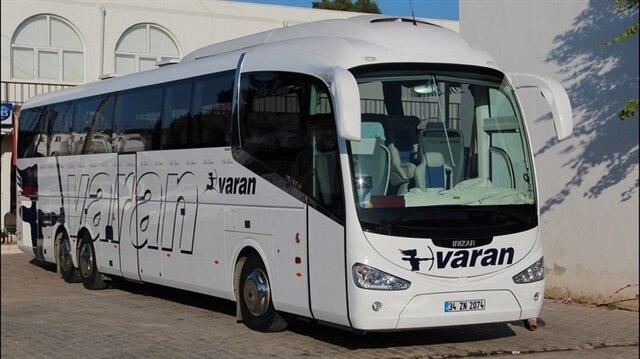 Otobüs taşımacılığının köklü firması Varan icradan satılık