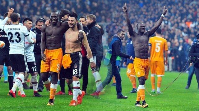 Aboubakar, Beşiktaş tribünlerini coşturdu