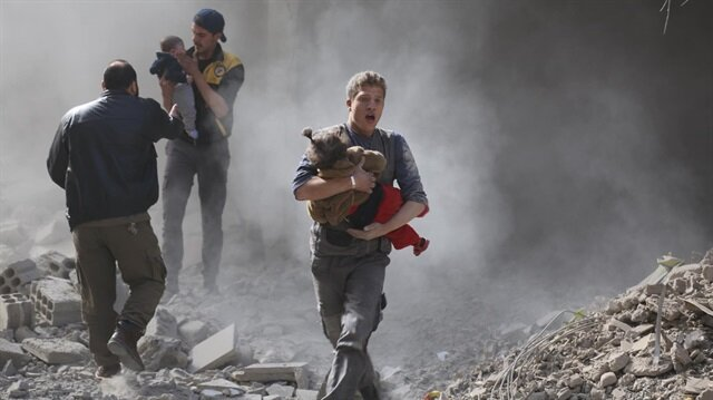 Haberlerde görüp geçtiğiniz, insanlığın katledildiği yer: Doğu Guta