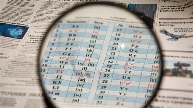 Kazakistan'ın Latin alfabesine geçiş süreci