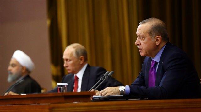 Erdoğan: Terör örgütü ile aynı platformda yer almamızı bizden kimse beklememelidir