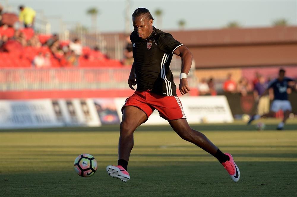 Didier Drogba, Phoenix Rising formasıyla çıktığı 14 resmi maçta 9 gol atıp 4 asist yaptı.