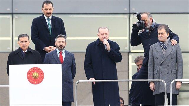 Cumhurbaşkanı Erdoğan: Ey Trump, sen ne yapmak istiyorsun?