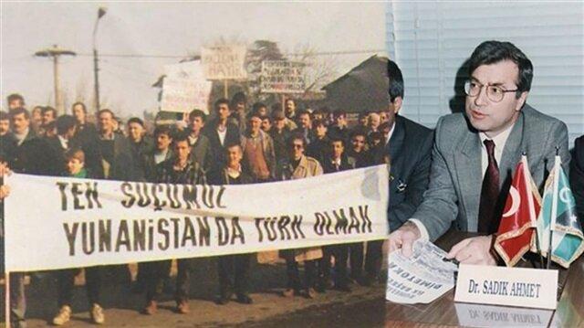 Batı Trakya Türklerinin lideri: Sadık Ahmet