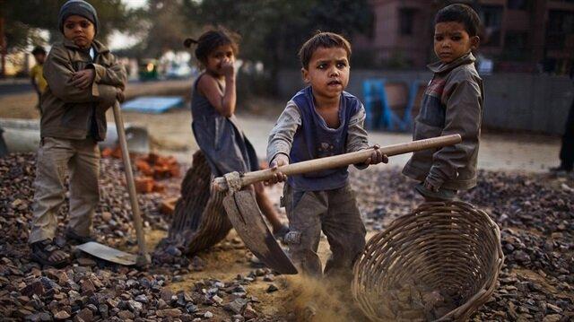 Dünyada 152 milyon çocuk çalışma hayatında!