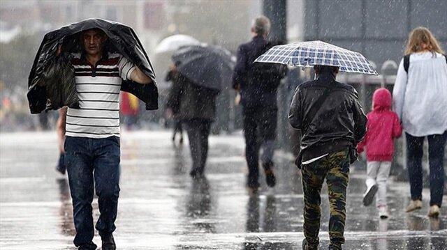 Meteorolojiden İstanbul ve 8 il için sağanak uyarısı