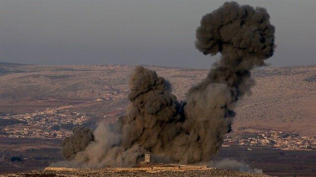 Zeytin Dalı Harekatı başladı: Savaş uçakları bombalıyor