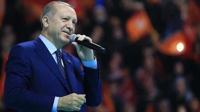 Cumhurbaşkanı Erdoğan: Karşımıza kim çıkarsa çıksın ezer geçeriz