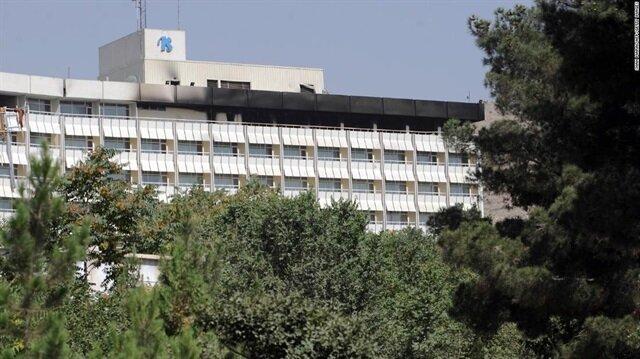 Kabil'deki otel saldırısında 15 kişi hayatını kaybetti