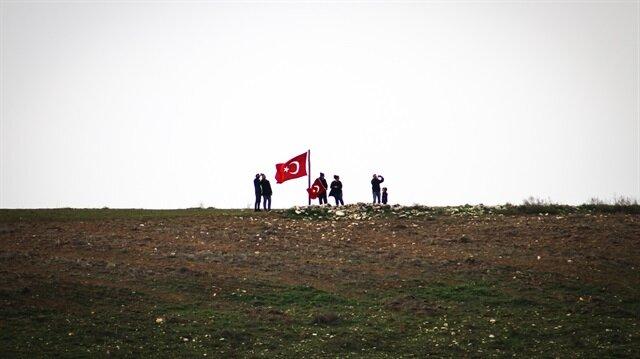 Fotoğraflarla Afrin harekatının 4. günü