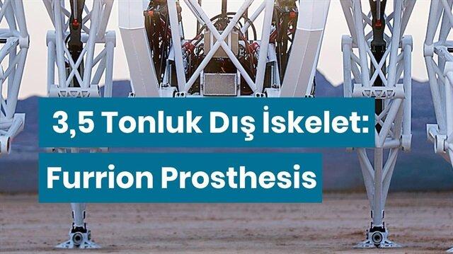 3,5 tonluk dış iskelet: Furrion Prosthesis