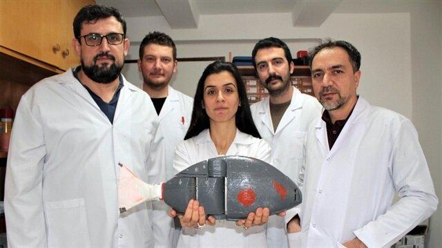 Türk yapımı robot balık su altının yeni kâşifi olacak