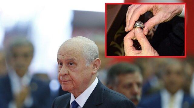 Taktığı gizemli yüzüğün anlamını açıkladı
