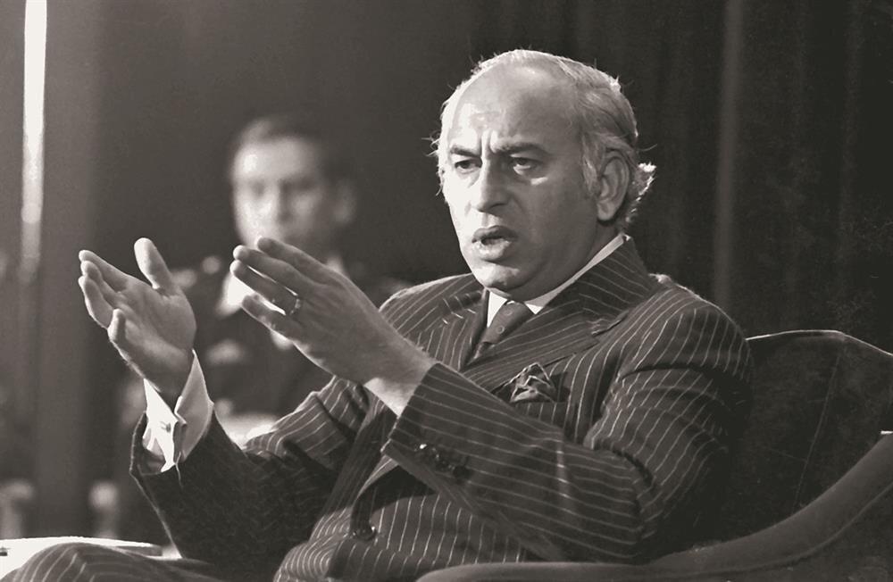 Zülfikar Ali Butto, Pakistan Halk Partisi'nin kurucusuydu.