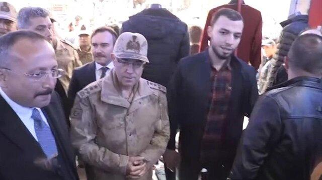 Jandarma Genel komutanı eski habercisiyle karşılaştı