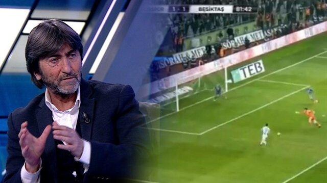 Rıdvan Dilmen: Pepe'nin pozisyonu net kırmızı kart ve penaltı