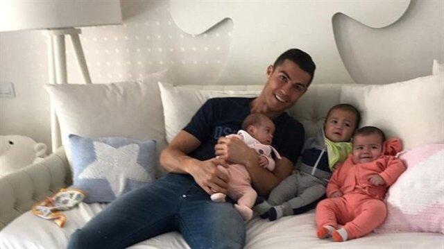 Cristiano Ronaldo'nun keyfi kaçtı! Mateo hastaneye kaldırıldı