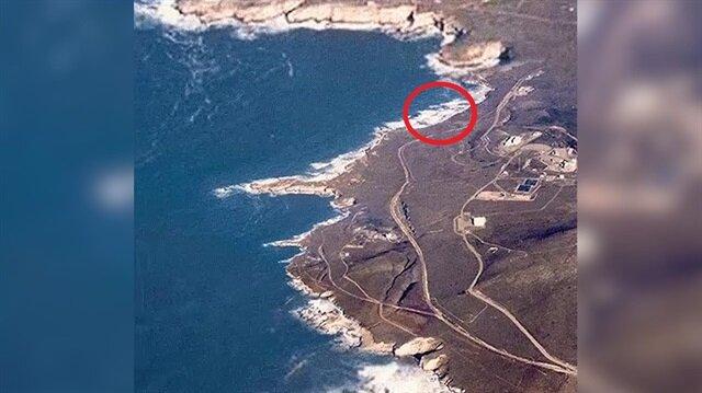 Uzaydan sahile bitmek bilmeyen sinir bozucu zoom!