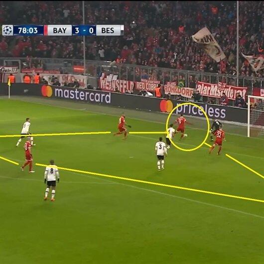 Bayern Münih'in Beşiktaş'a attığı gollerin 'ilginç' ortak özelliği!