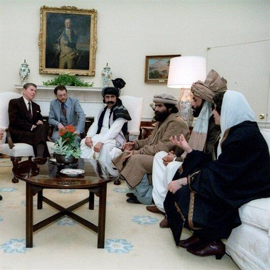 Mücahitler Başkan'la