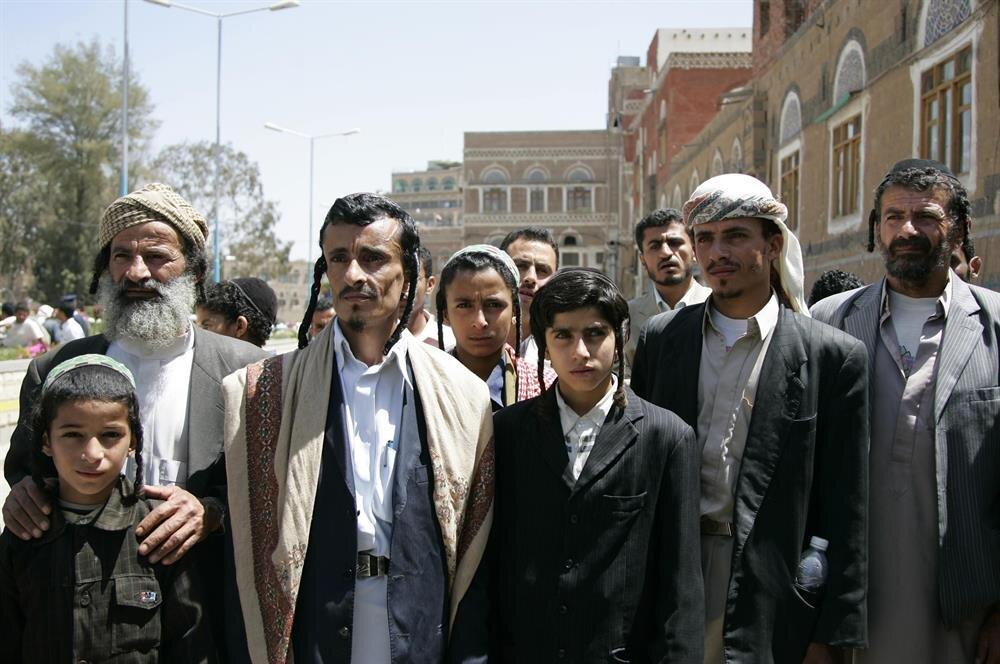 Yemen'in Sanaa şehrinde yaşayan Yahudiler