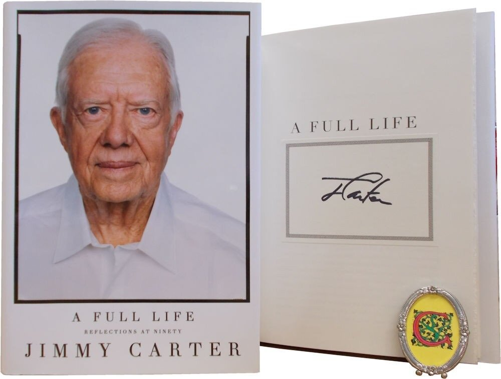 A Full Life: Reflections at Ninety, by Jimmy Carter