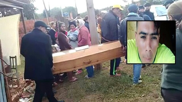 Kendi cenazesinde ortaya çıktı ailesi sinir krizi geçirdi