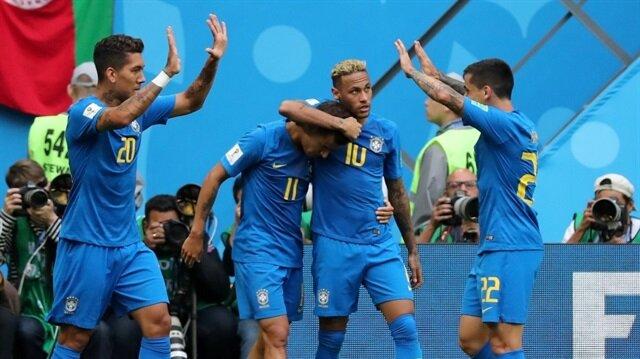 Brezilya, uzatmalarda çoştu