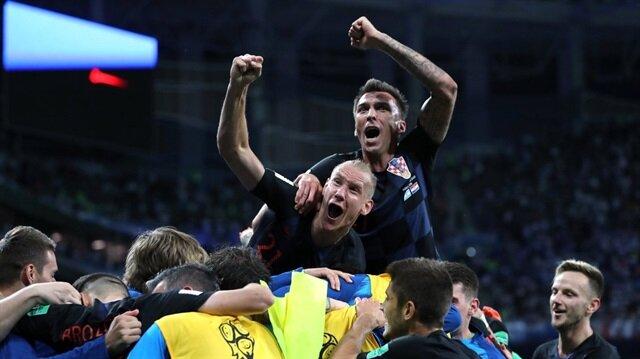 Arjantin'i, Hırvatistan çarptı