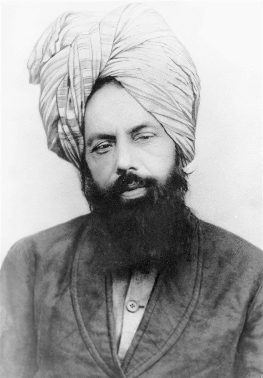Ahmedilik'in kurucusu Mirza Gulam Ahmed Han.