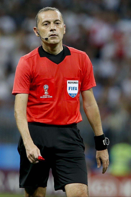 Çakır daha önce de yönettiği maçlarda İngiliz taraftarların tepkilerine maruz kalmıştı. nFotoğraf: AA