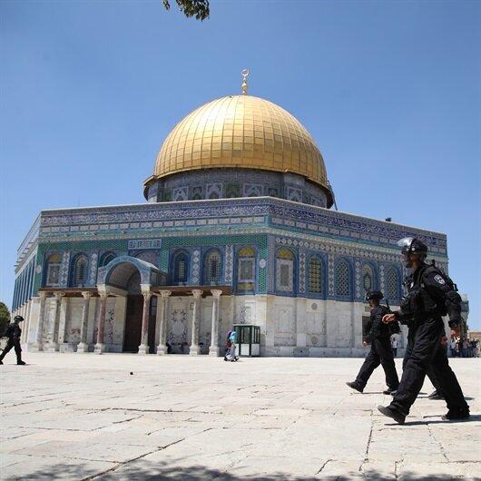 İsrail polisinden Mescid-i Aksa'ya saldırı