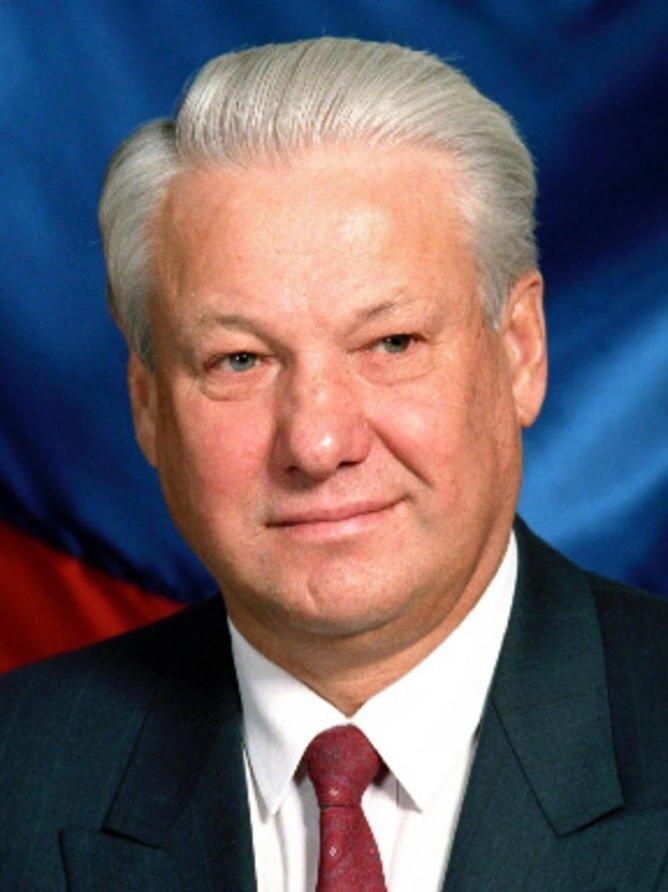 Birinci Çeçen-Rus savaşı sırasında Rus Cumhurbaşkanı olan Boris Yeltsin.