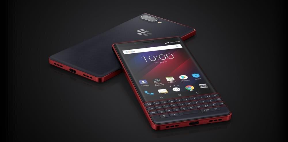 BlackBerry KEY2 LE'nin farklı renk seçeneklerine sahip olduğunu da eklemek gerekiyor.