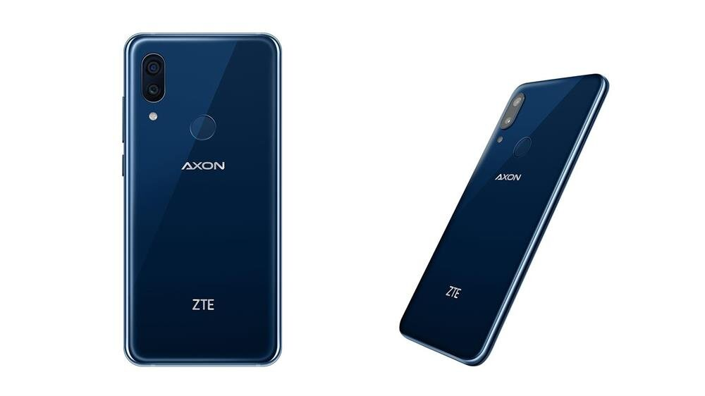 ZTE Axon Pro 9'un arka tasarım ve arka kamera görünümü oldukça şık bulundu.