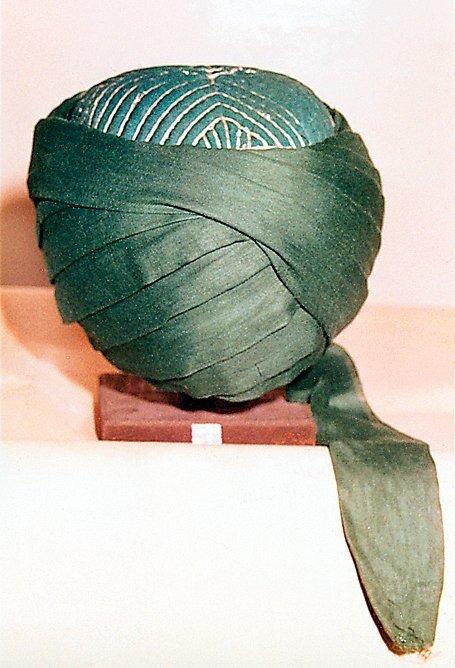 Şeyh Şâzelî'nin tac-ı şerifi İstanbul Şehir Müzesinde bulunmaktadır.