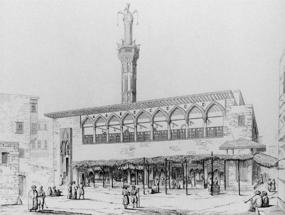 Şeyh Şâzelî'nin Attanan Camii'nde yaptığı derslere Mısır ulemâsından birçok isim katılmaktaydı.